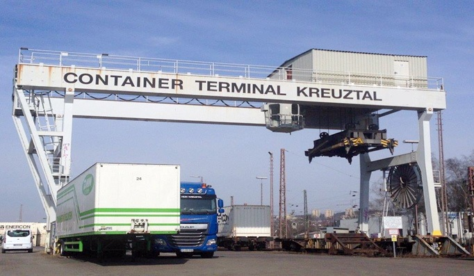 container kran